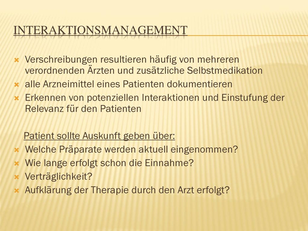 Interaktionsmanagement