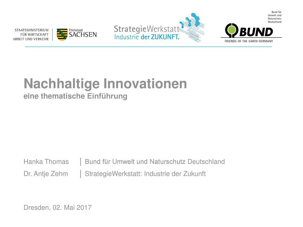 Nachhaltige Innovationen