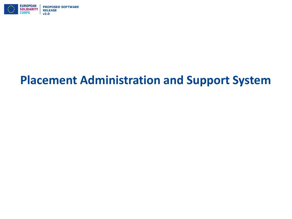 Placement Administration and Support System