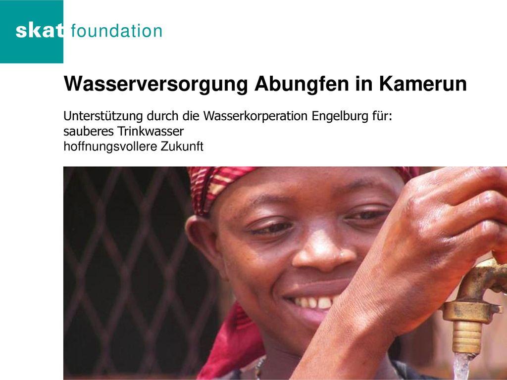 Wasserversorgung Abungfen in Kamerun