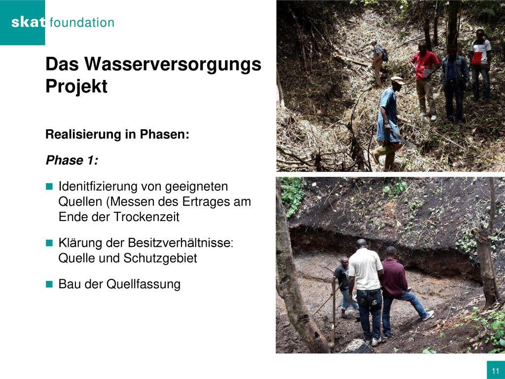 Das Wasserversorgungs Projekt