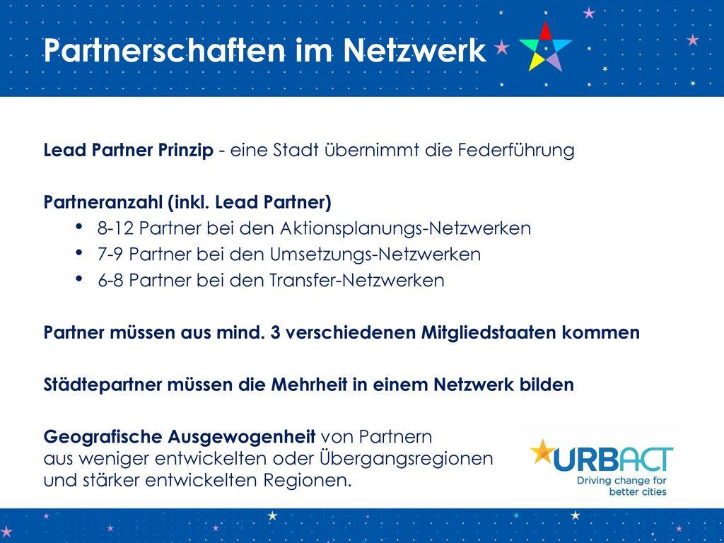 Partnerschaften im Netzwerk