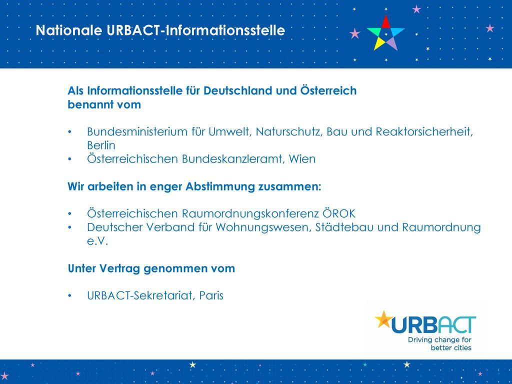 Nationale URBACT-Informationsstelle