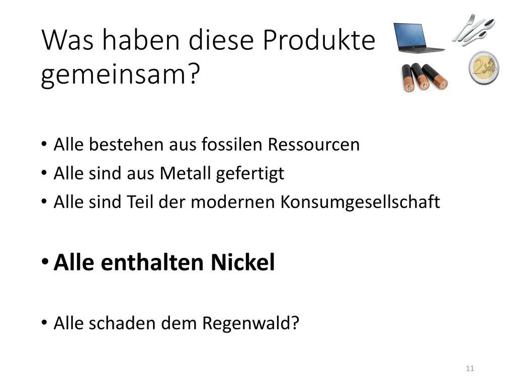 Was haben diese Produkte gemeinsam
