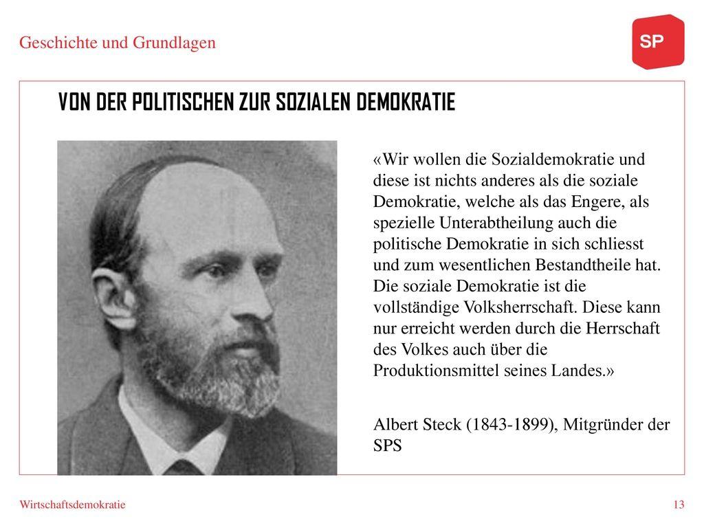 Von der politischen zur sozialen Demokratie