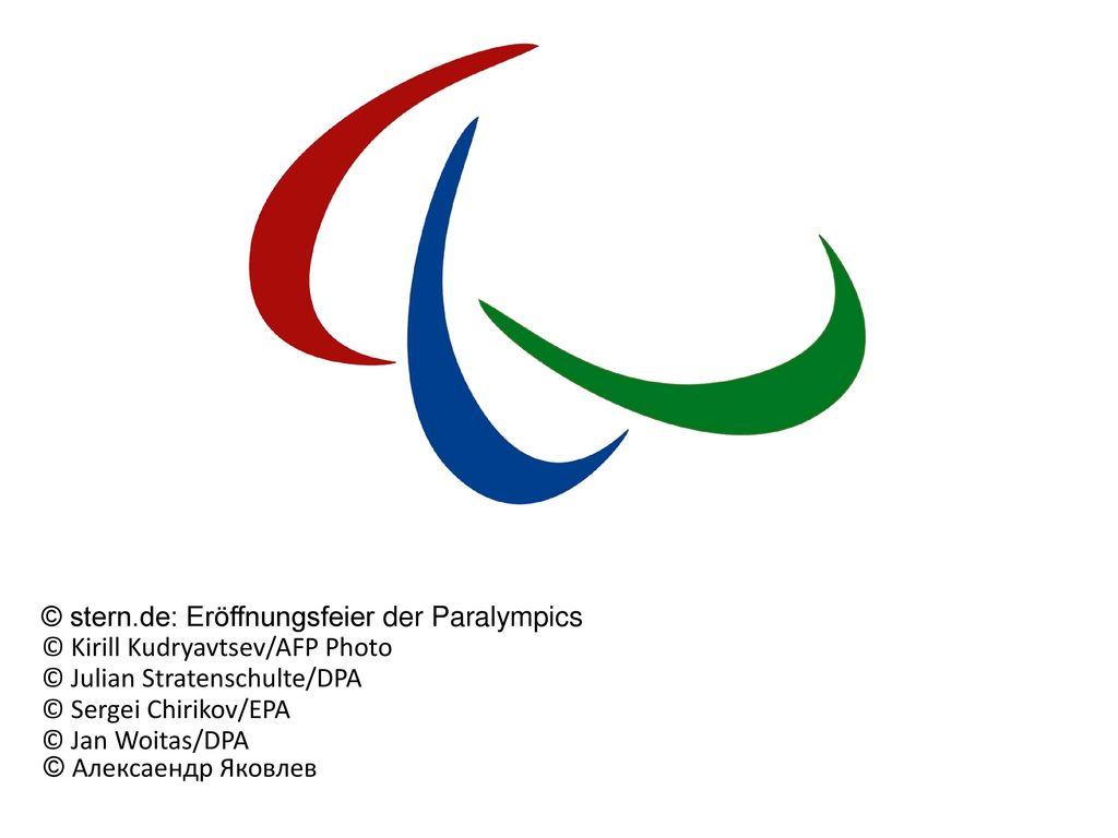© stern.de: Eröffnungsfeier der Paralympics