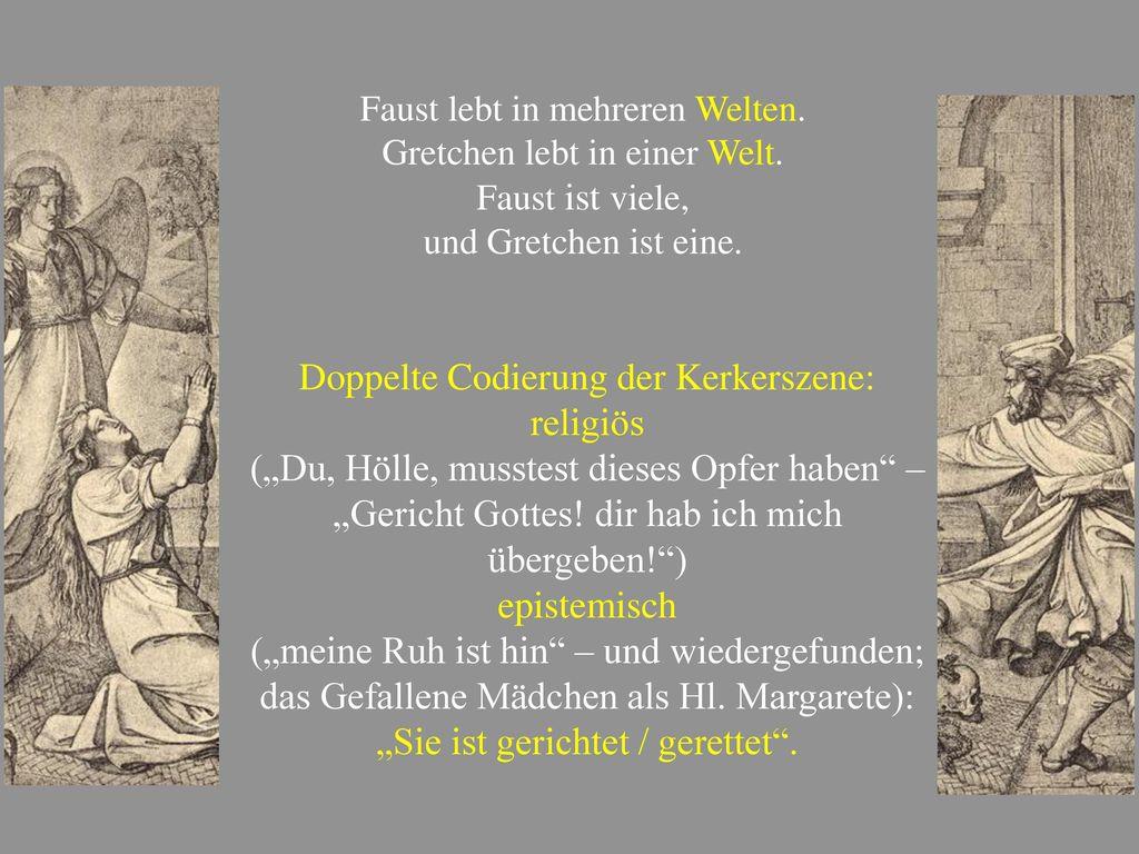Doppelte Codierung der Kerkerszene: religiös