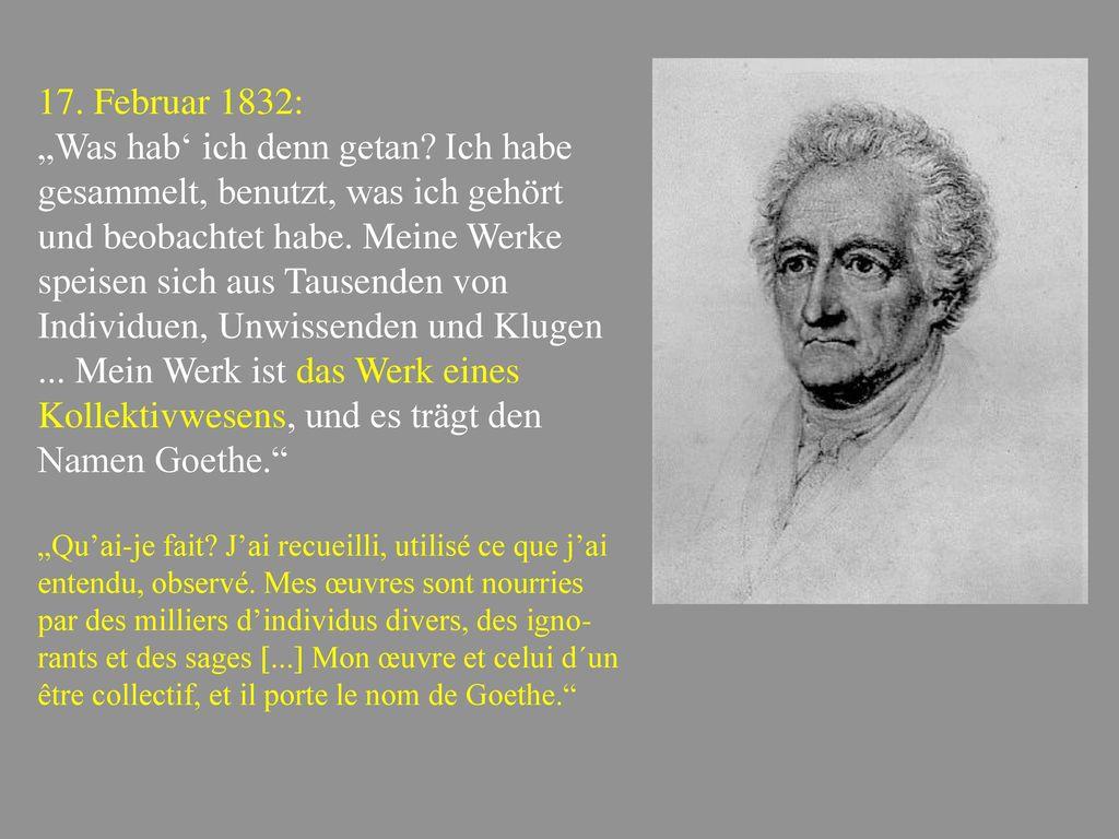 17. Februar 1832: