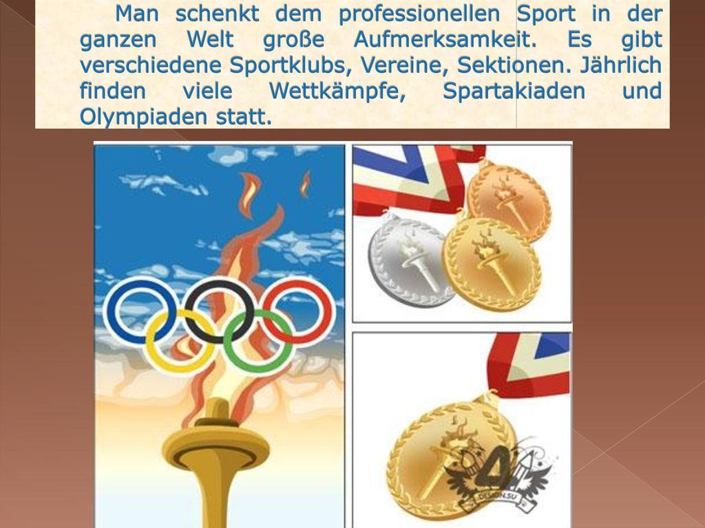Man schenkt dem professionellen Sport in der ganzen Welt große Aufmerksamkeit.