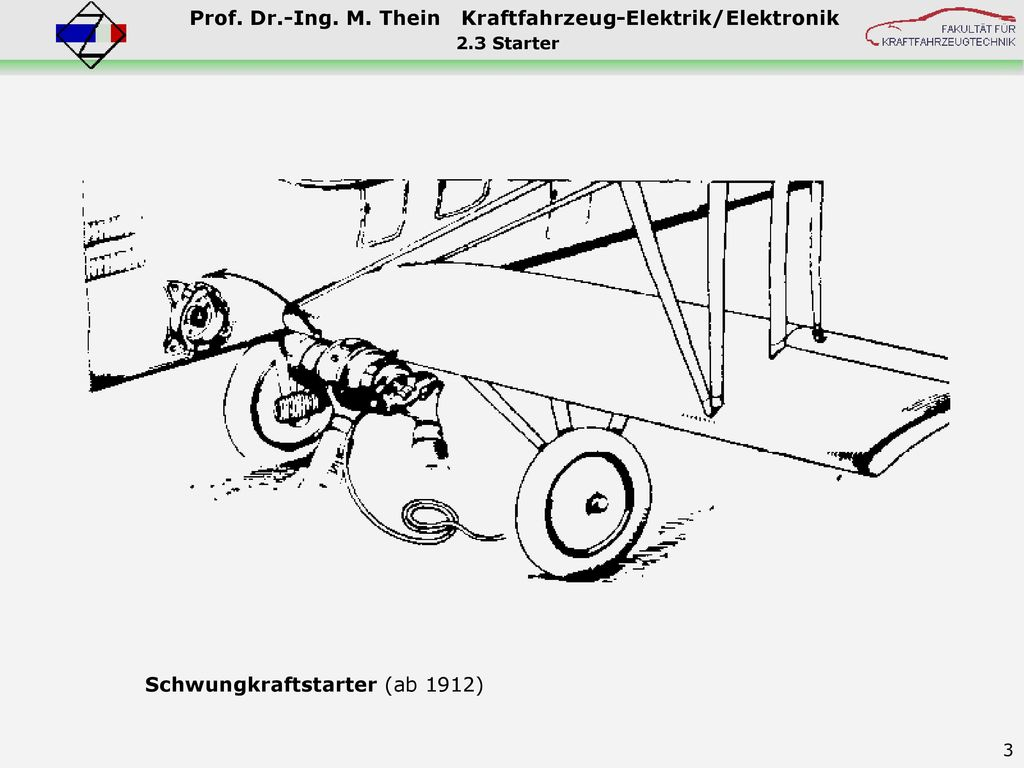 Schwungkraftstarter (ab 1912)
