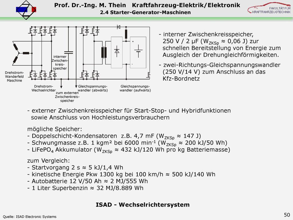 2.4 Starter-Generator-Maschinen