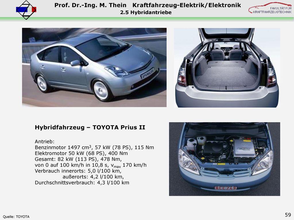Hybridfahrzeug – TOYOTA Prius II