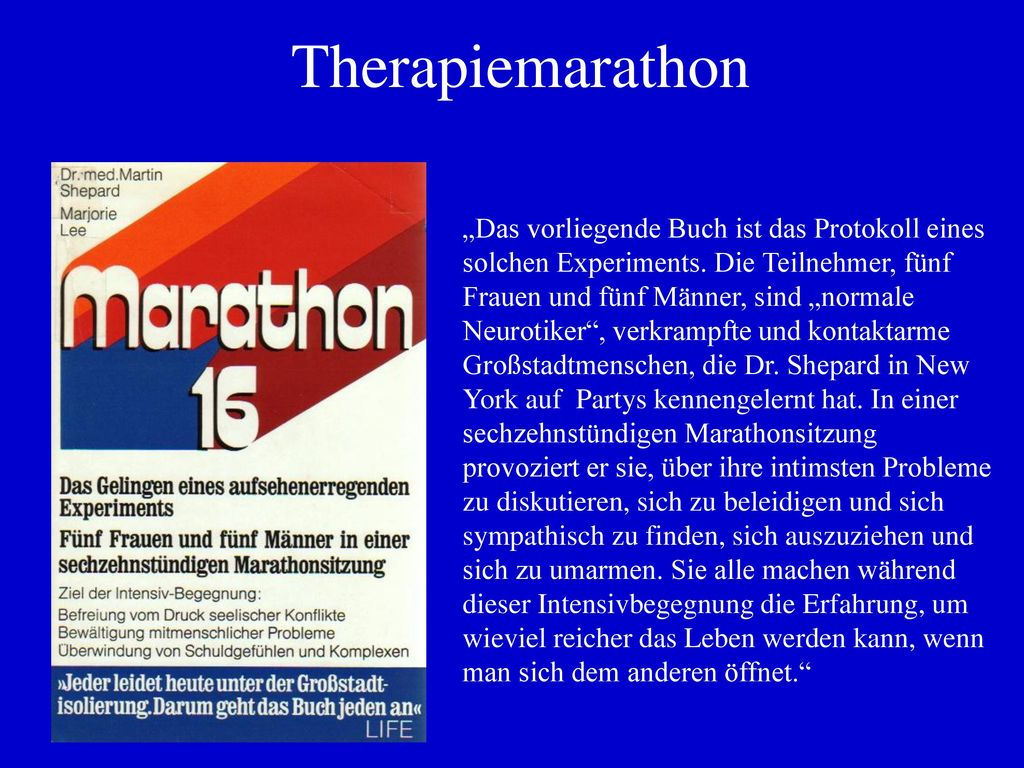 Therapiemarathon