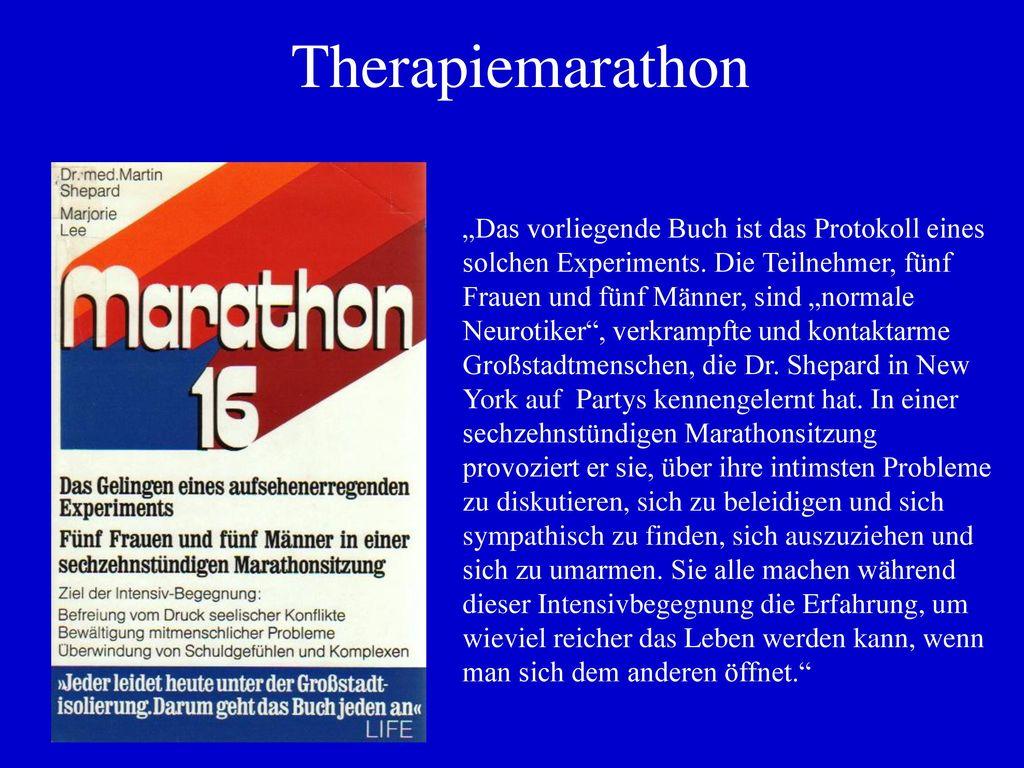 Therapiemarathon