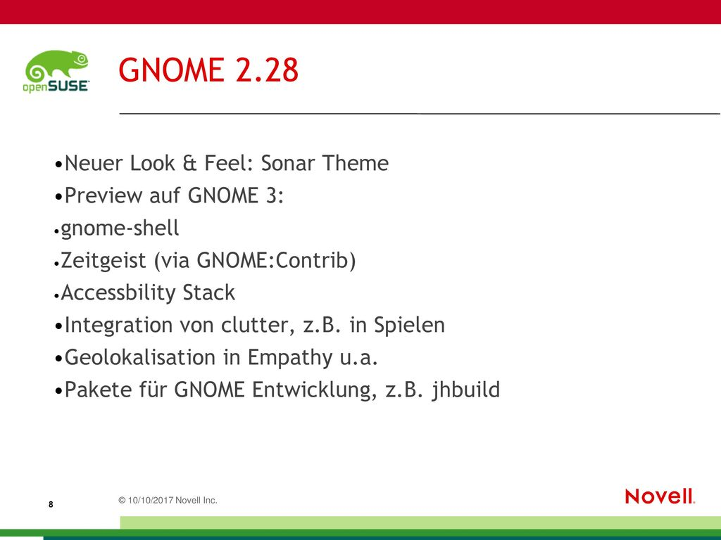 GNOME 2.28 Neuer Look & Feel: Sonar Theme Preview auf GNOME 3: