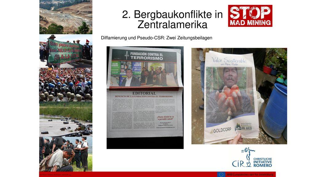 Diffamierung und Pseudo-CSR: Zwei Zeitungsbeilagen