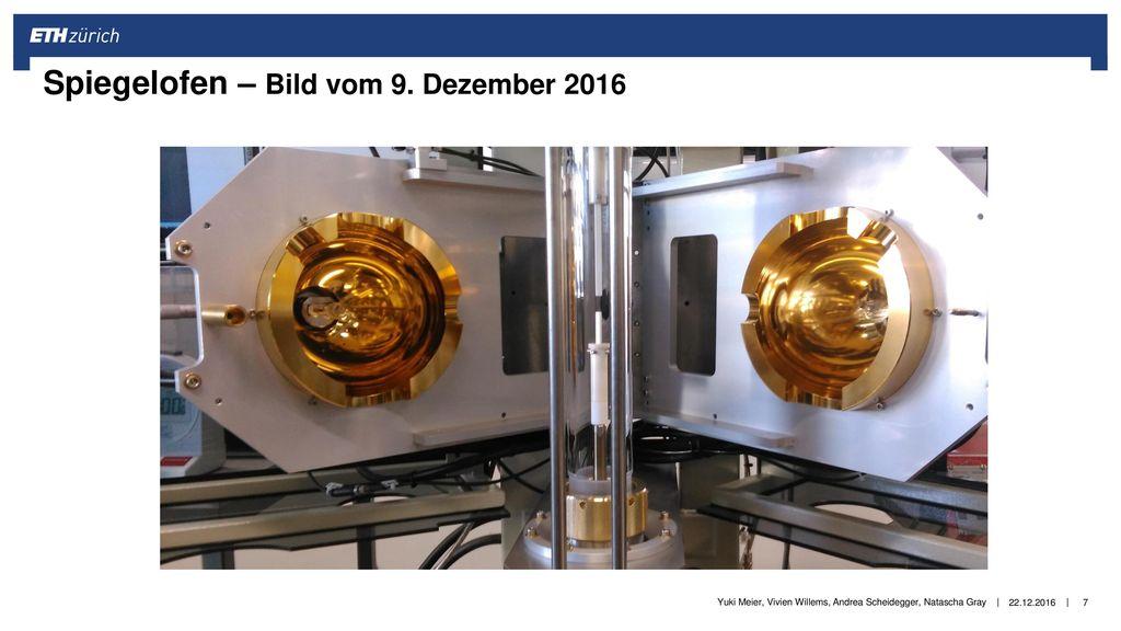 Spiegelofen – Bild vom 9. Dezember 2016