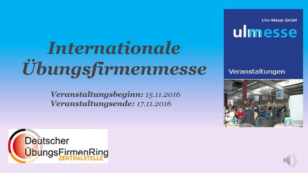 Internationale Übungsfirmenmesse