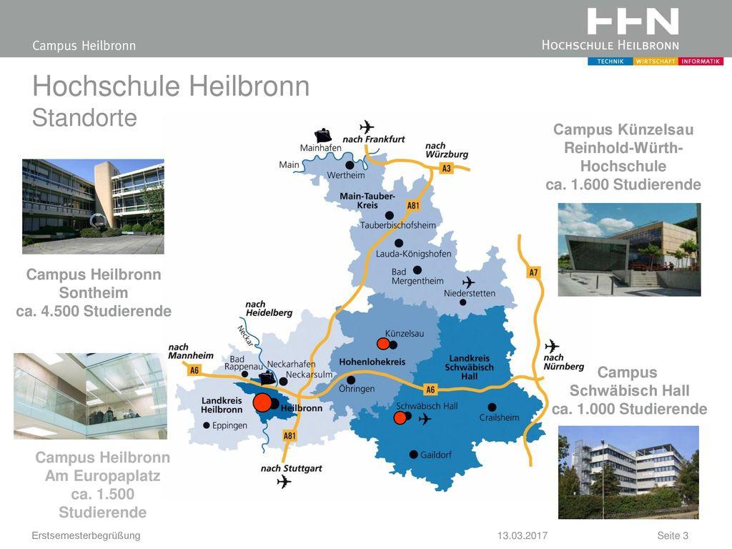 Hochschule Heilbronn Standorte
