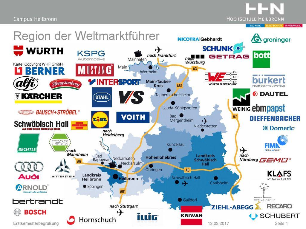 Region der Weltmarktführer