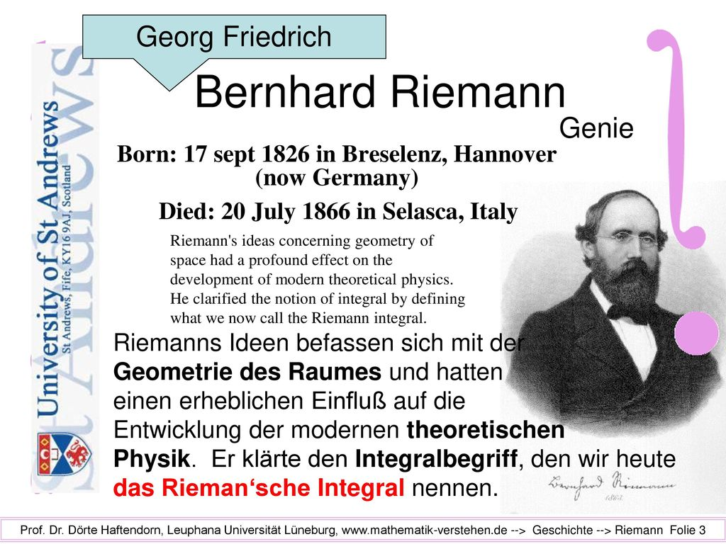 Born: 17 sept 1826 in Breselenz, Hannover (now Germany)
