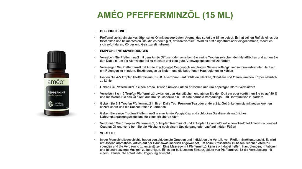 AMÉO PFEFFERMINZÖL (15 ML)