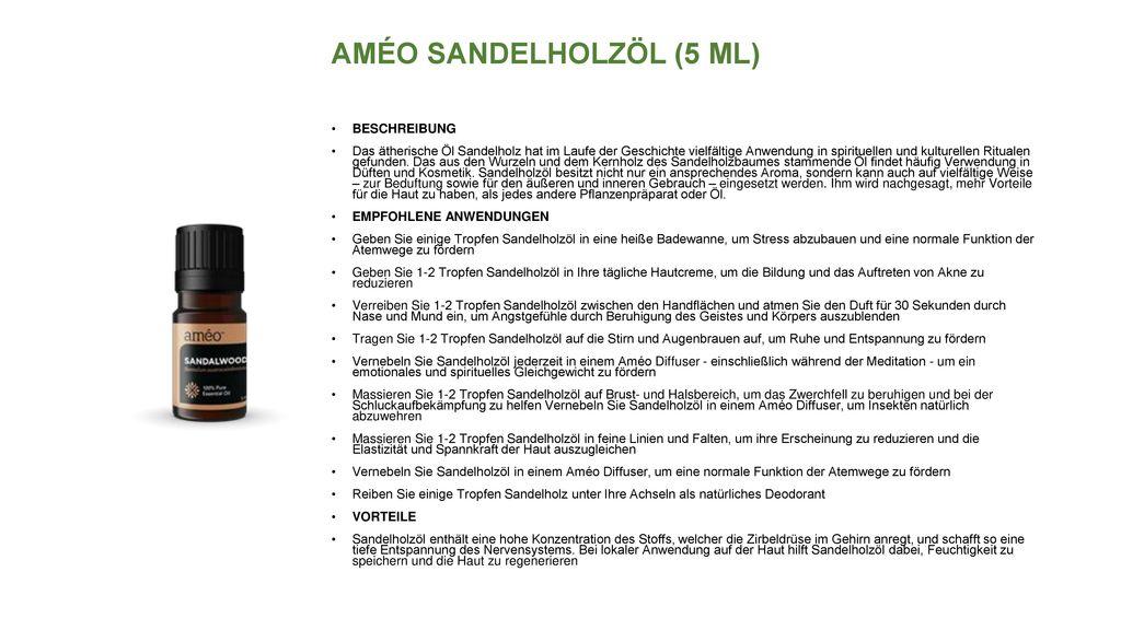 AMÉO SANDELHOLZÖL (5 ML)