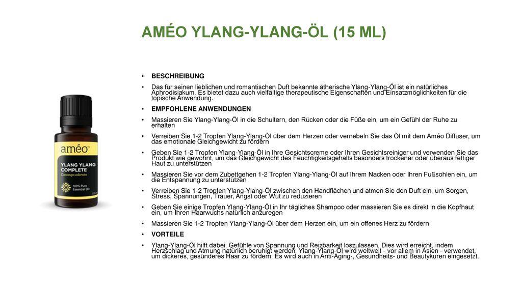 AMÉO YLANG-YLANG-ÖL (15 ML)