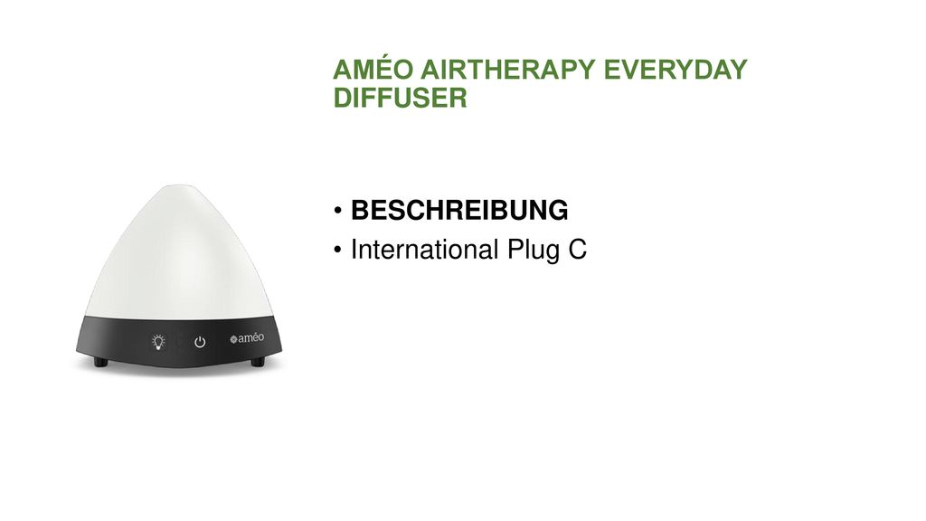 AMÉO AIRTHERAPY EVERYDAY DIFFUSER
