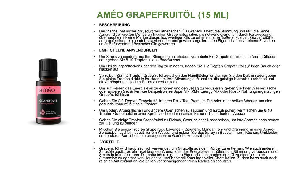 AMÉO GRAPEFRUITÖL (15 ML)