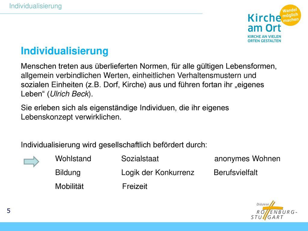Individualisierung Individualisierung.