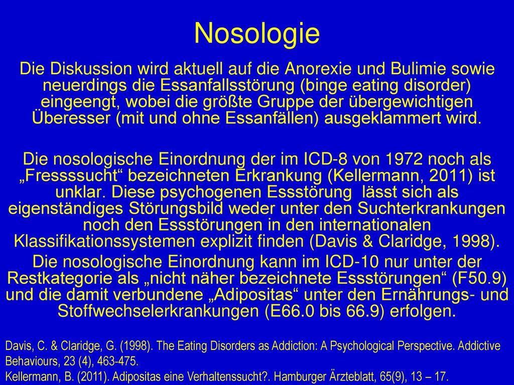 Nosologie