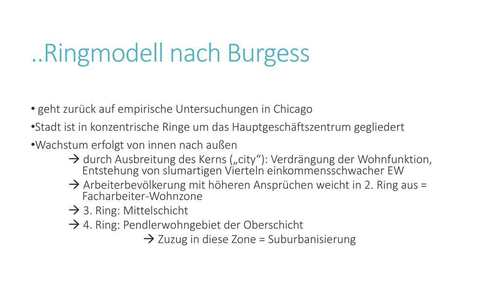 ..Ringmodell nach Burgess
