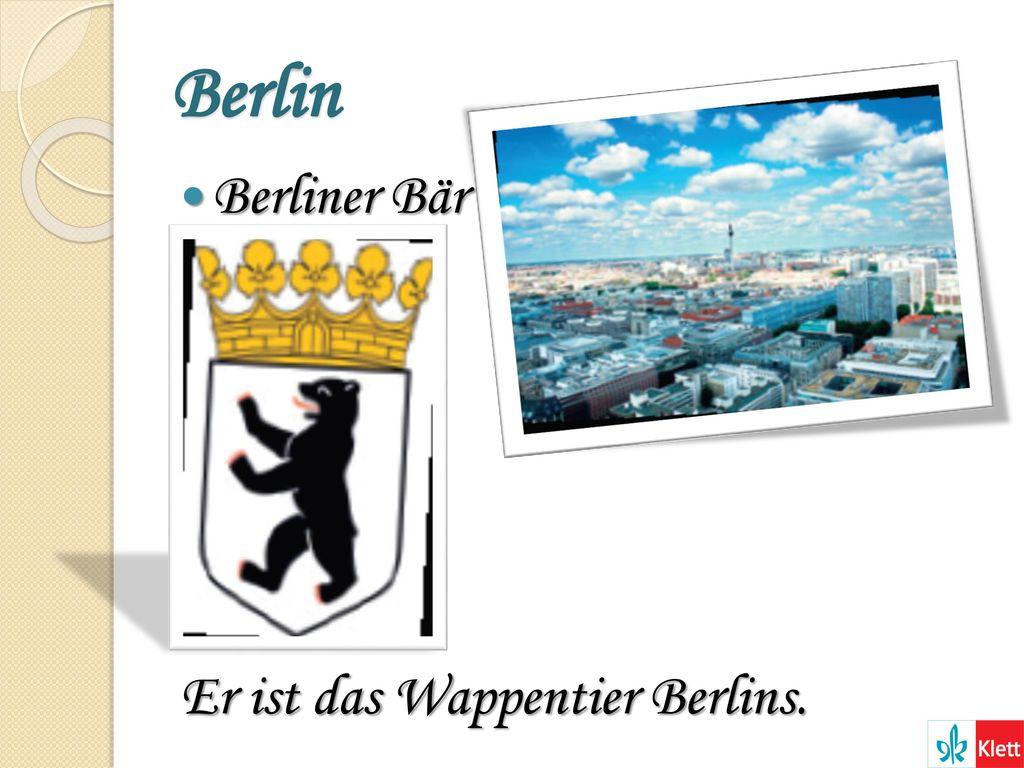 Berlin Berliner Bär Er ist das Wappentier Berlins.