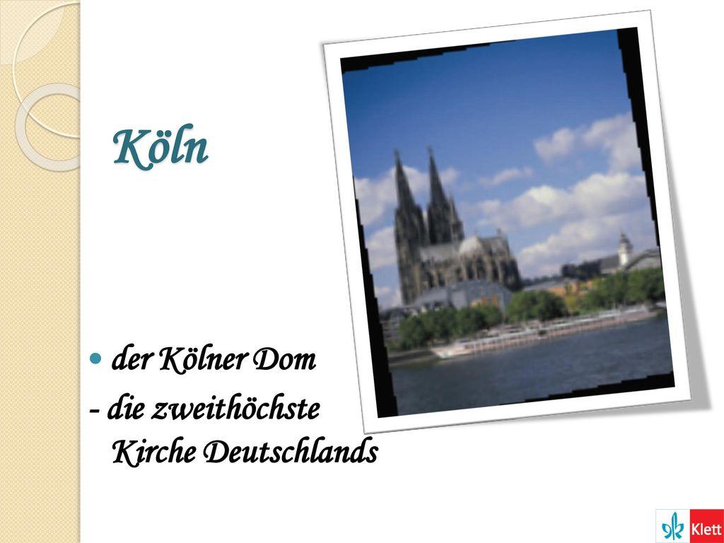 Köln der Kölner Dom - die zweithöchste Kirche Deutschlands