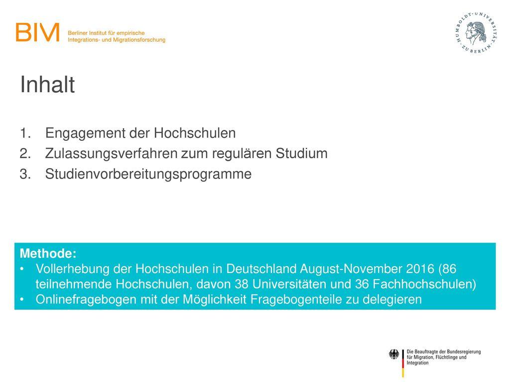 Inhalt Engagement der Hochschulen