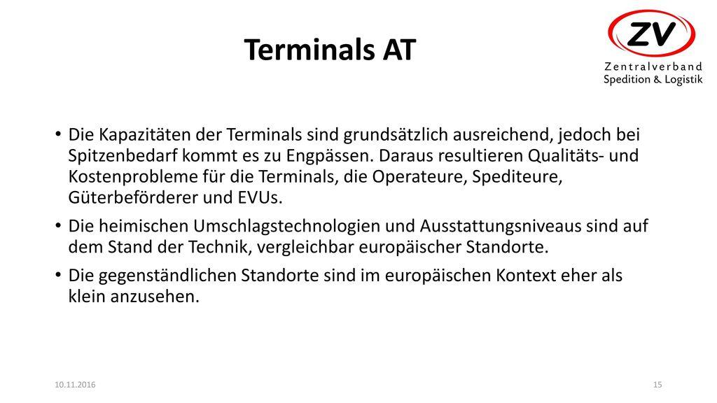Terminals AT