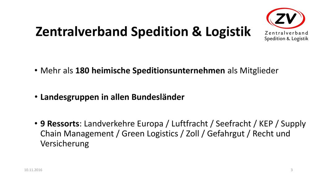 Zentralverband Spedition & Logistik