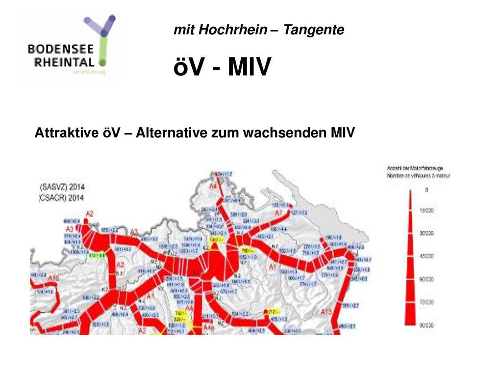 öV - MIV mit Hochrhein – Tangente