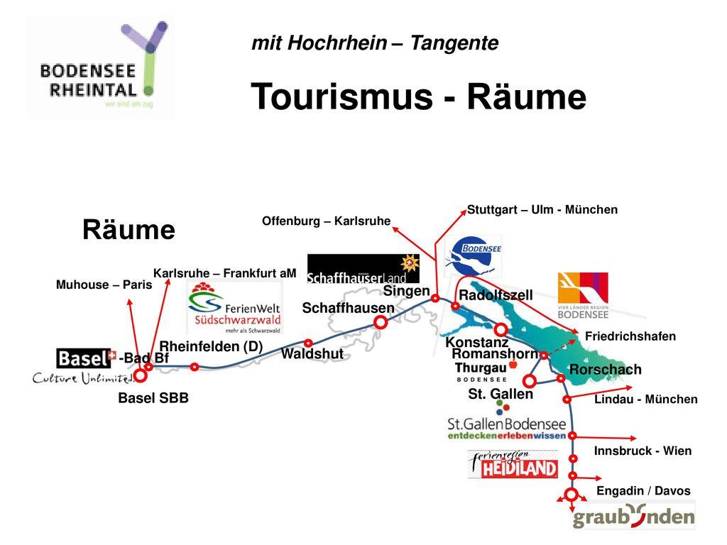 Tourismus - Räume Räume mit Hochrhein – Tangente – Singen Radolfszell