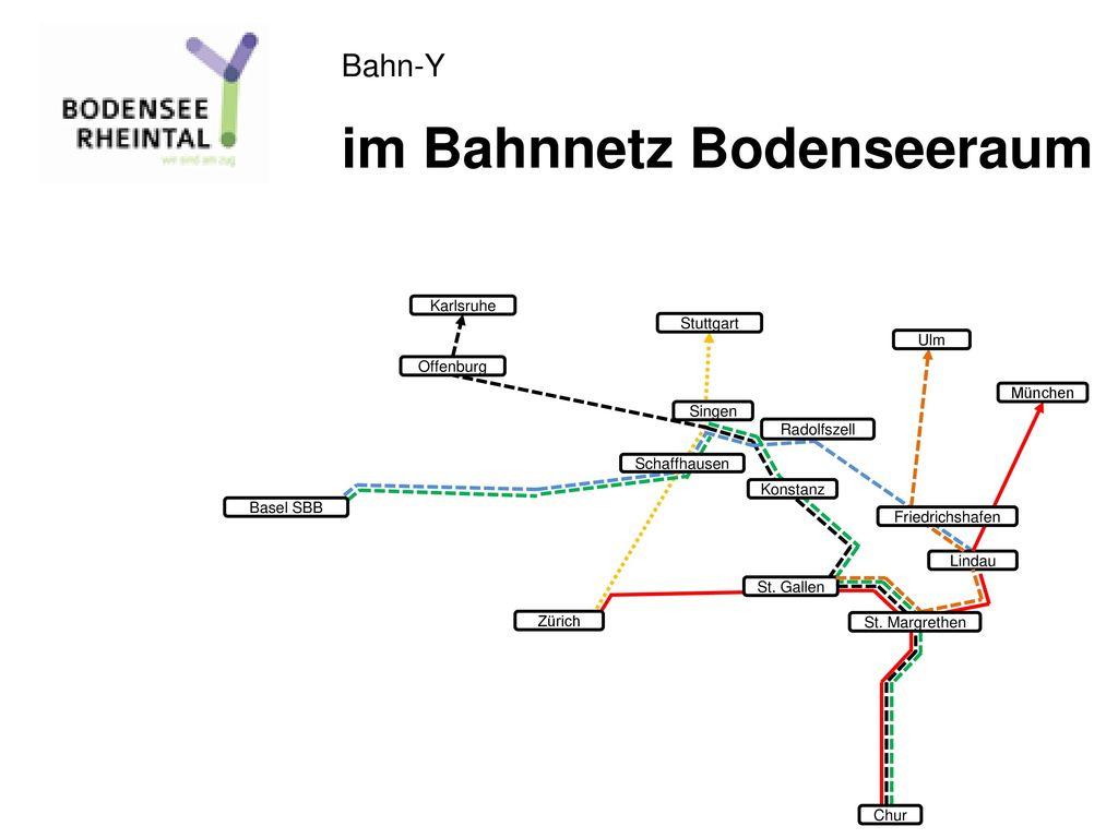 im Bahnnetz Bodenseeraum