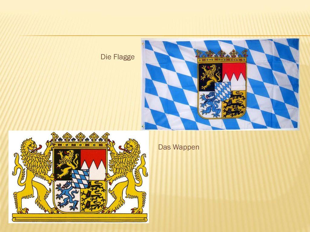 Die Flagge Das Wappen