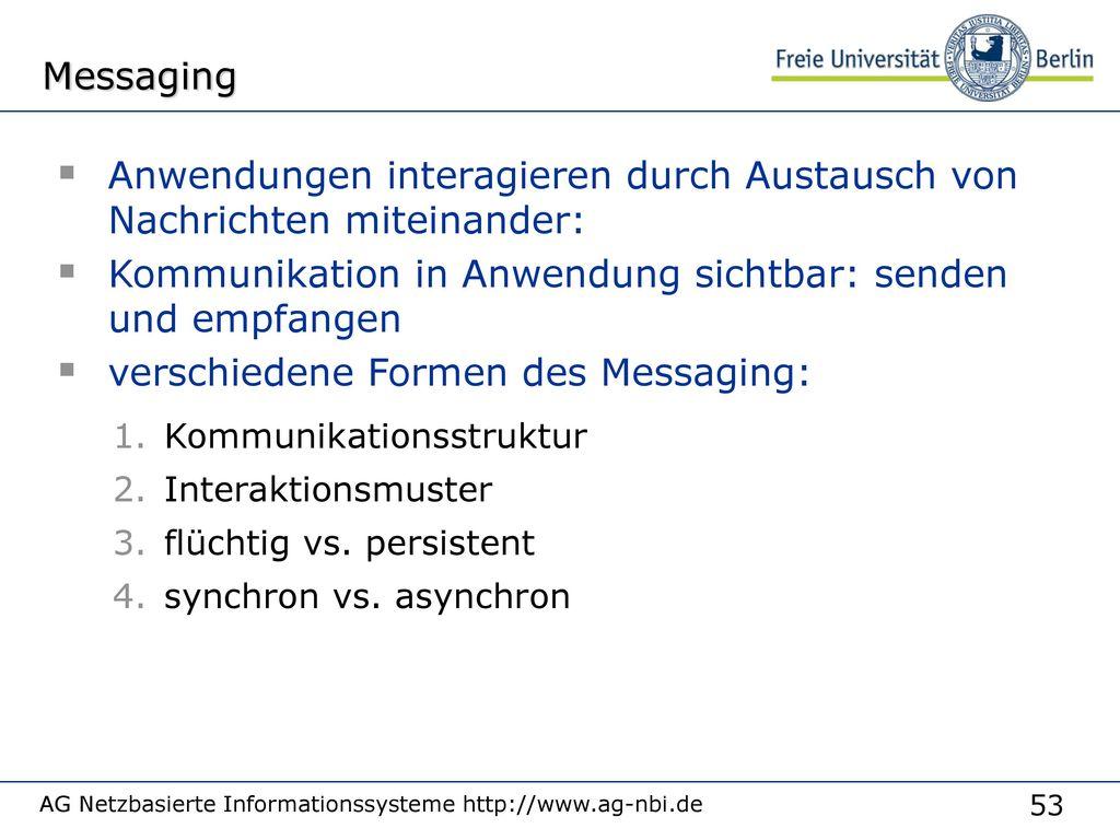 Arten der Kommunikation: