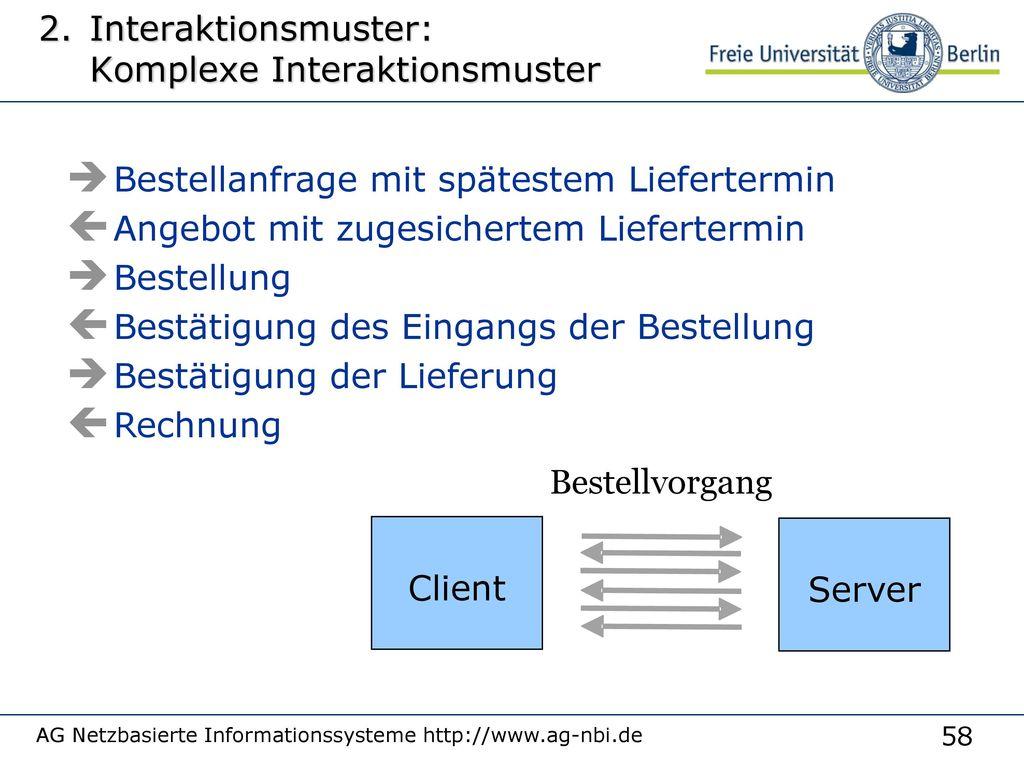 Kommunikationsstruktur: One-to-Many-Kommunikation