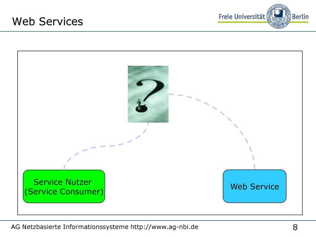 Web Services Service Nutzer Web Service (Service Consumer)