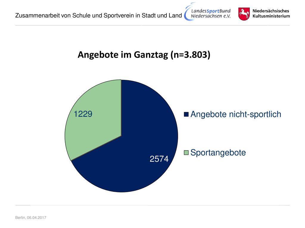 Angebote im Ganztag (n=3.803)