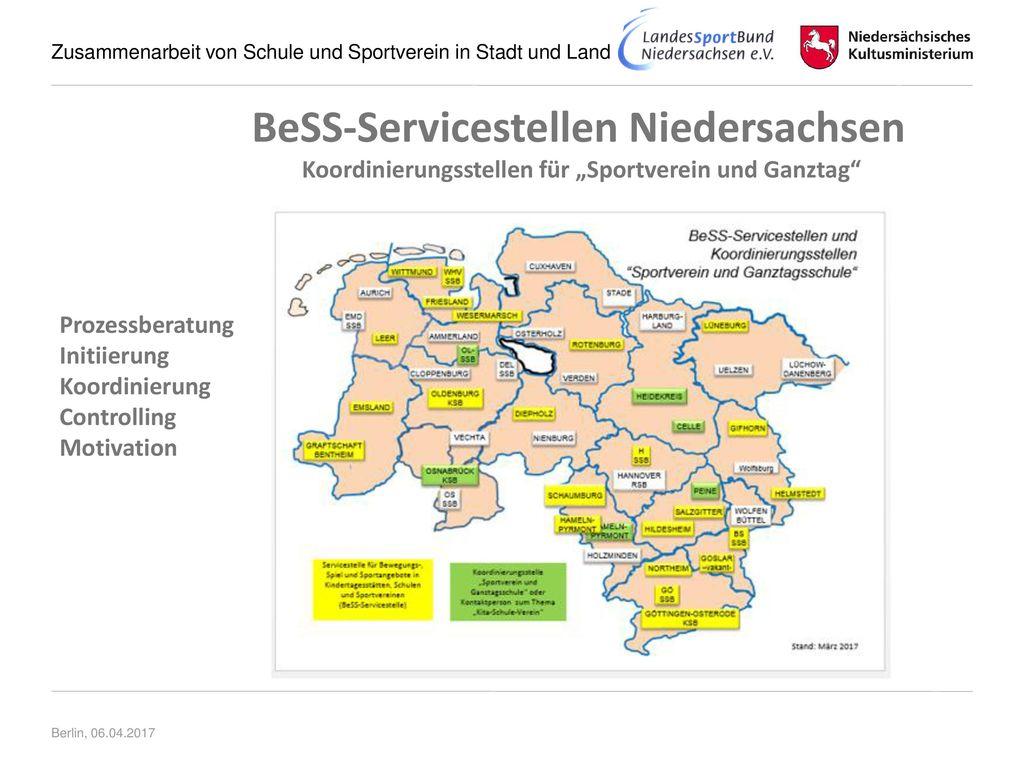 """Koordinierungsstellen für """"Sportverein und Ganztag"""