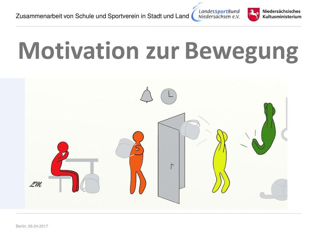 Motivation zur Bewegung LM Berlin, 06.04.2017