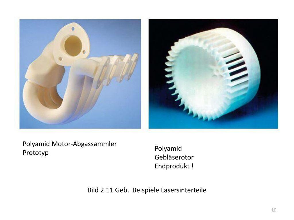 Polyamid Motor-Abgassammler