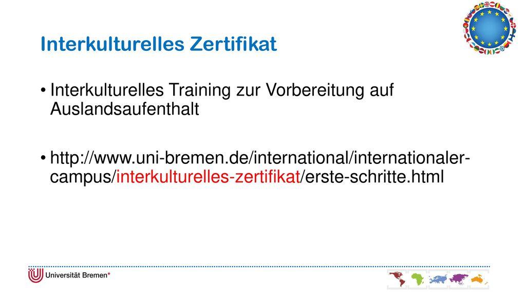 Interkulturelles Zertifikat